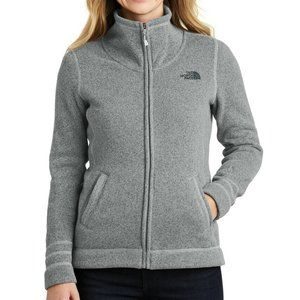 The North Face Full Zip Mock Neck Sweater Jacket S